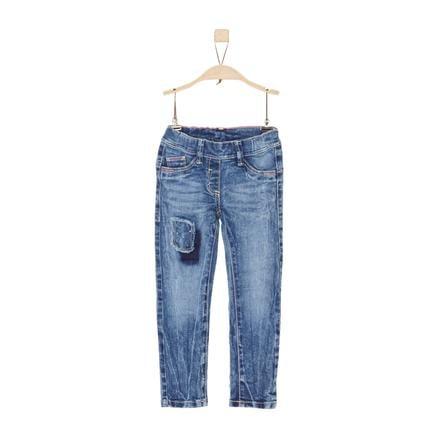 s.Oliver Girl s jeans blue denim stretch slim