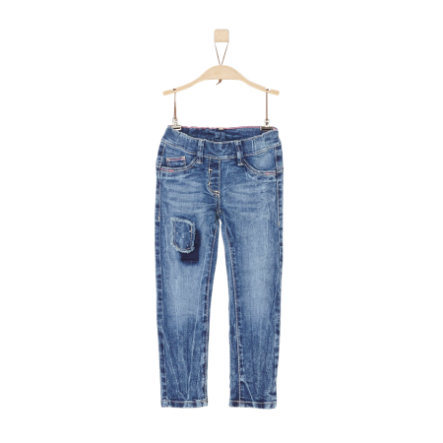 s.Oliver Jeans blue denim stretch slim