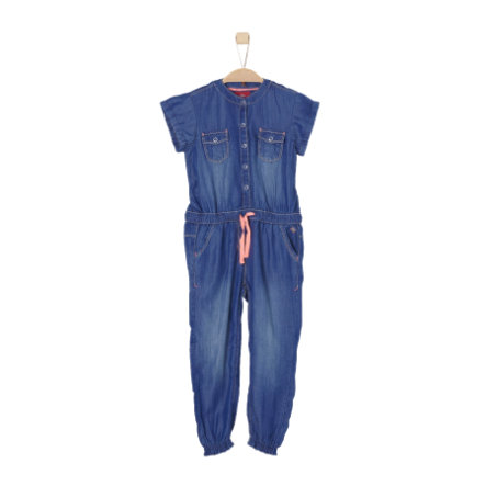 s.Oliver Girls Overall blue denim