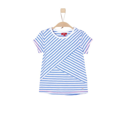 s.Oliver Girls T-Shirt blue stripes
