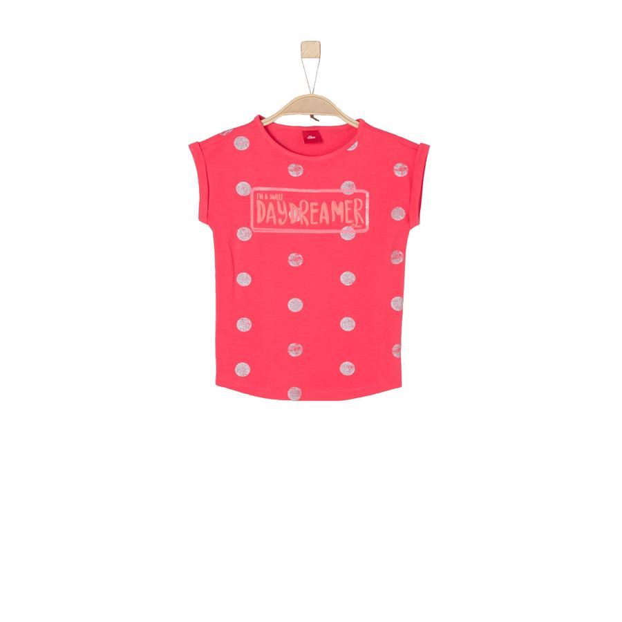 s.Oliver Girl T-Shirt fioletoworóżowy.