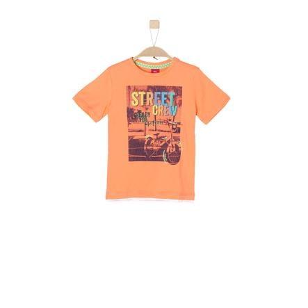 s.Oliver Girl s T-Shirt naranja