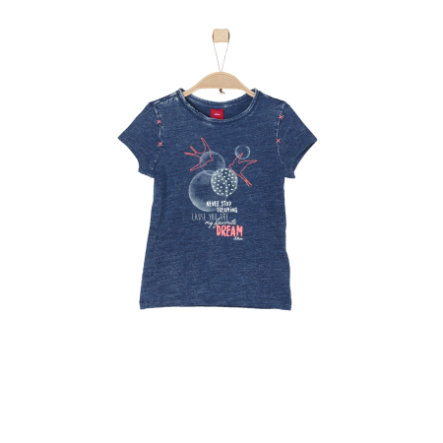 s.Oliver Girl T-Shirt indaco