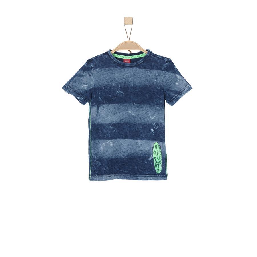 s.Oliver T-Shirt indigo