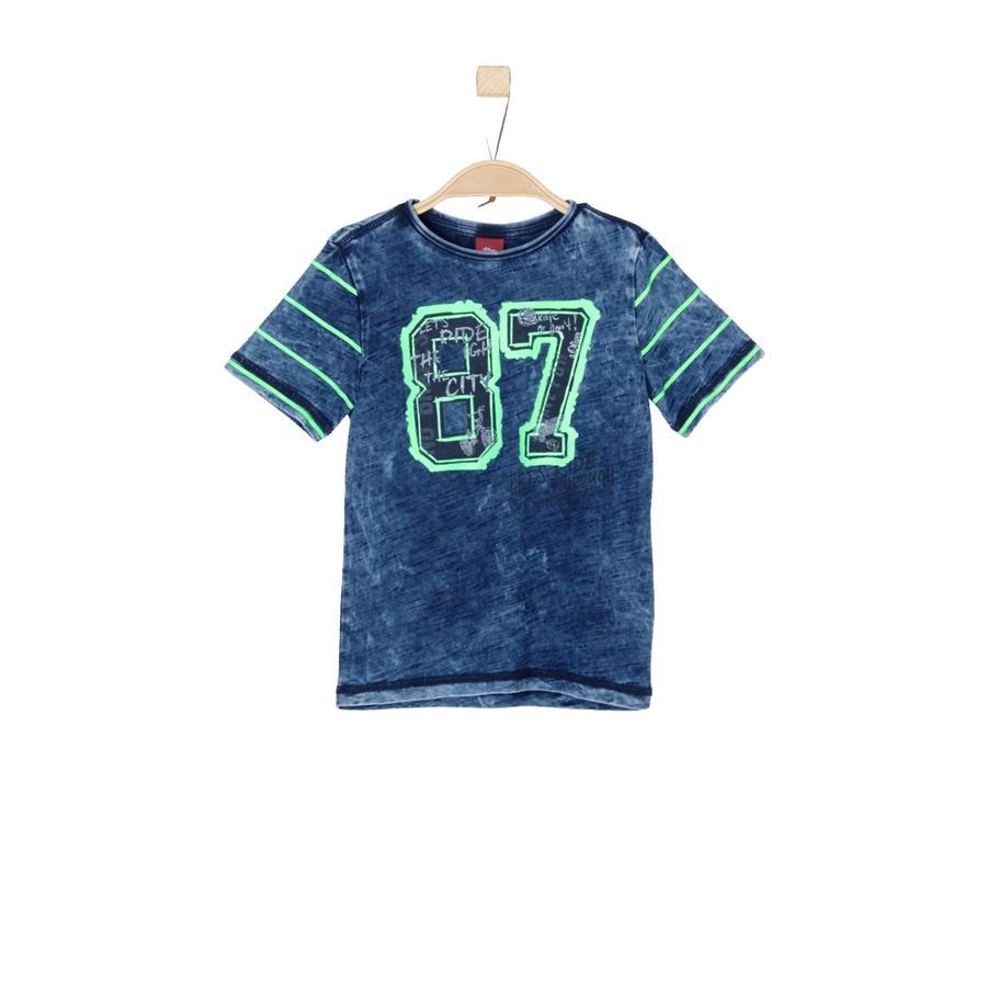 s.Oliver Boys T-Shirt indigo