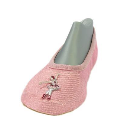TROSTEL Girls Gymnastikschuh Ballerina rosa