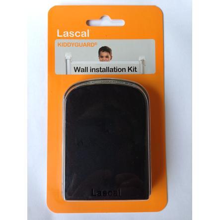 Lascal Kit fixation murale pour barrière Kiddy Guard noir