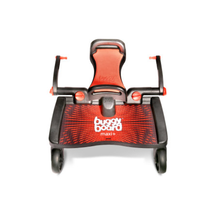 Lascal Buggy Board Maxi rot + mit Sitz