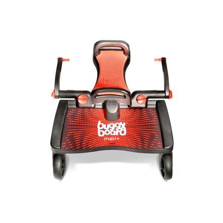 Lascal Planche à roulettes poussette et siège Buggy Board Maxi+ rouge