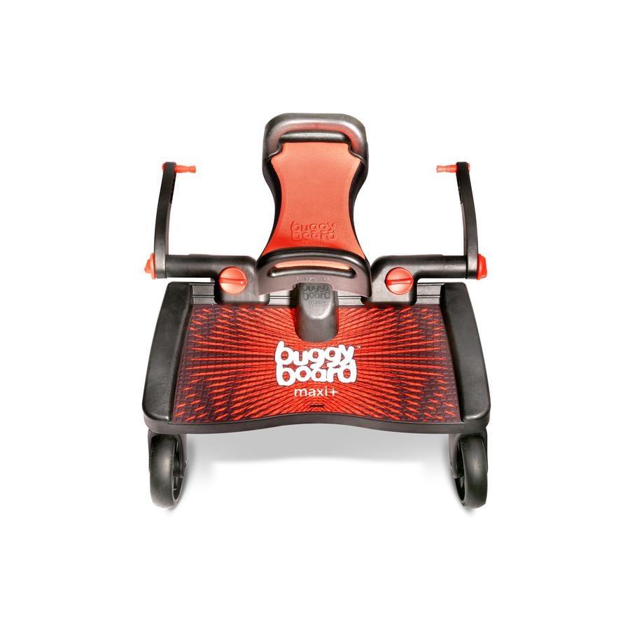 Lascal Buggy Board Maxi + mit Sitz rot