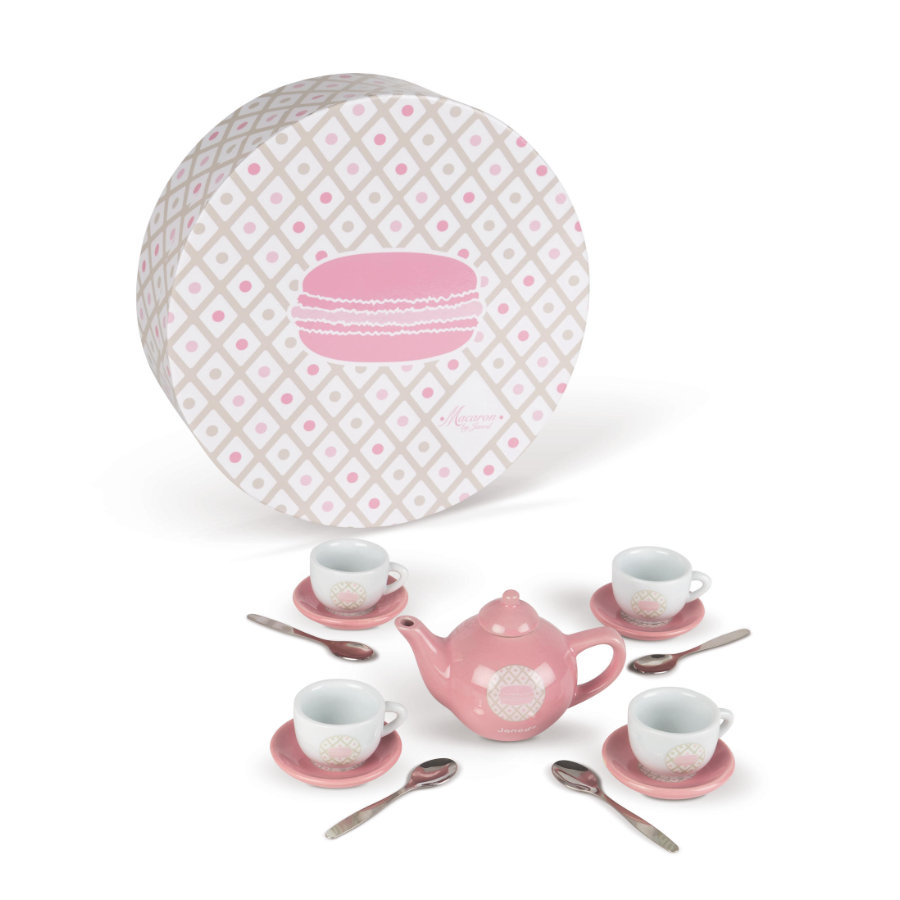 "Janod® Tee-Geschirr ""Macaron"" Keramik"