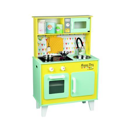 """Janod® Cucina giocattolo """"Happy Day"""" con accessori"""