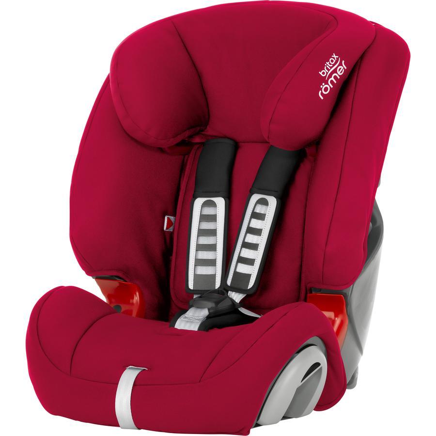 Britax Römer Siège auto Evolva 1 2 3 Flame Red, 2016