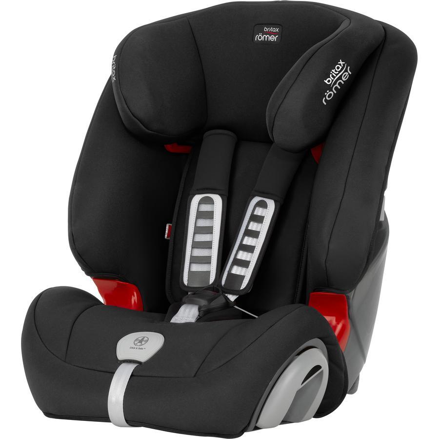 britax römer silla de coche Evolva 123 plus Cosmos Black