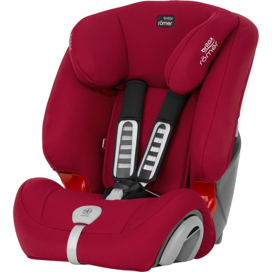 britax r mer si ge auto evolva 123 plus flame red. Black Bedroom Furniture Sets. Home Design Ideas