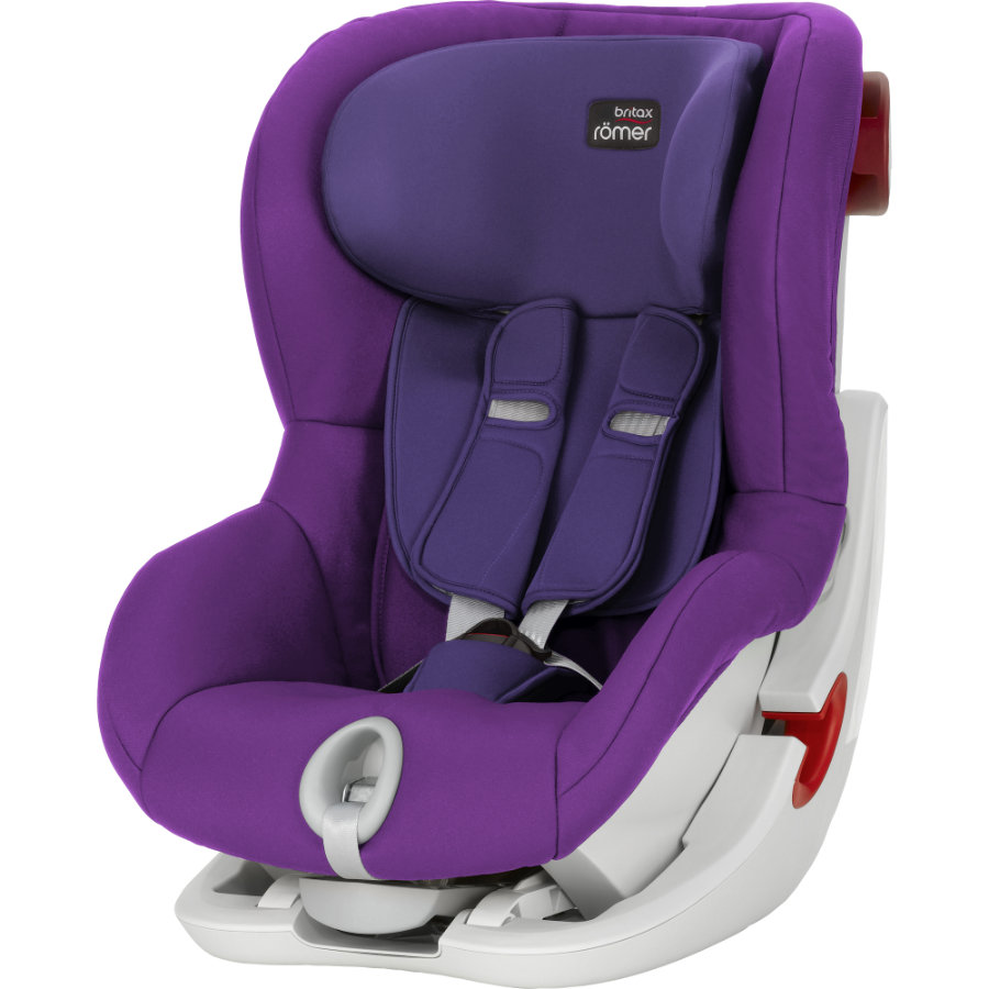BRITAX Bilbarnstol King II Mineral Purple Kollektion 2016