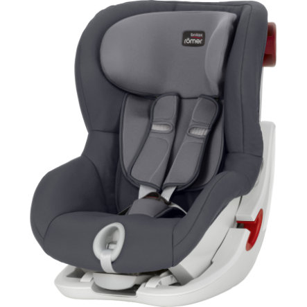 britax r mer autostol king ii storm grey. Black Bedroom Furniture Sets. Home Design Ideas