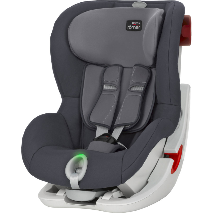 britax r mer kindersitz king ii ls storm grey. Black Bedroom Furniture Sets. Home Design Ideas