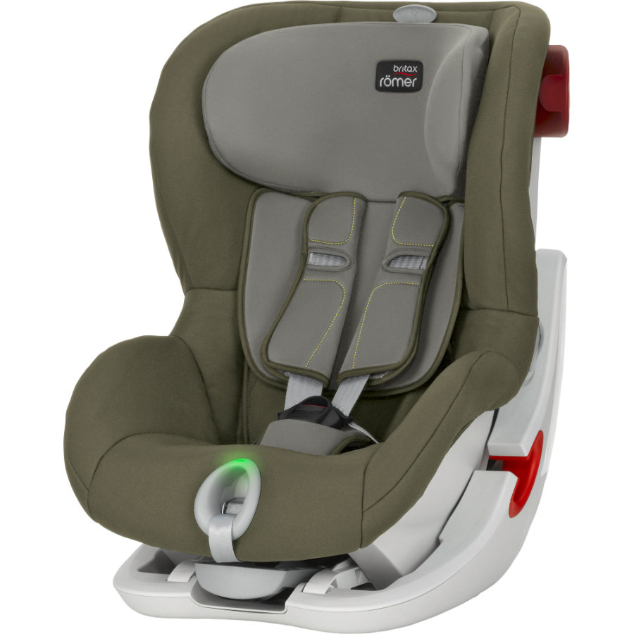 britax r mer kindersitz king ii ls olive green. Black Bedroom Furniture Sets. Home Design Ideas