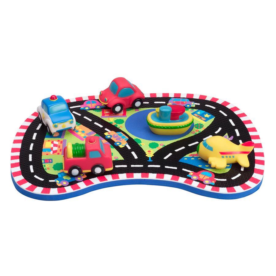 ALEX Badspeelgoed - Badspel 'voertuigen' met waterspuiter
