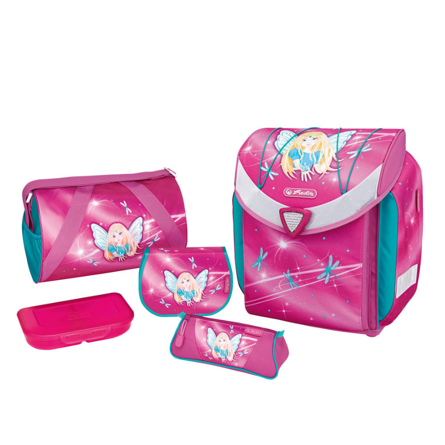 Herlitz Schulranzen Flexi Plus Set - Fairy -