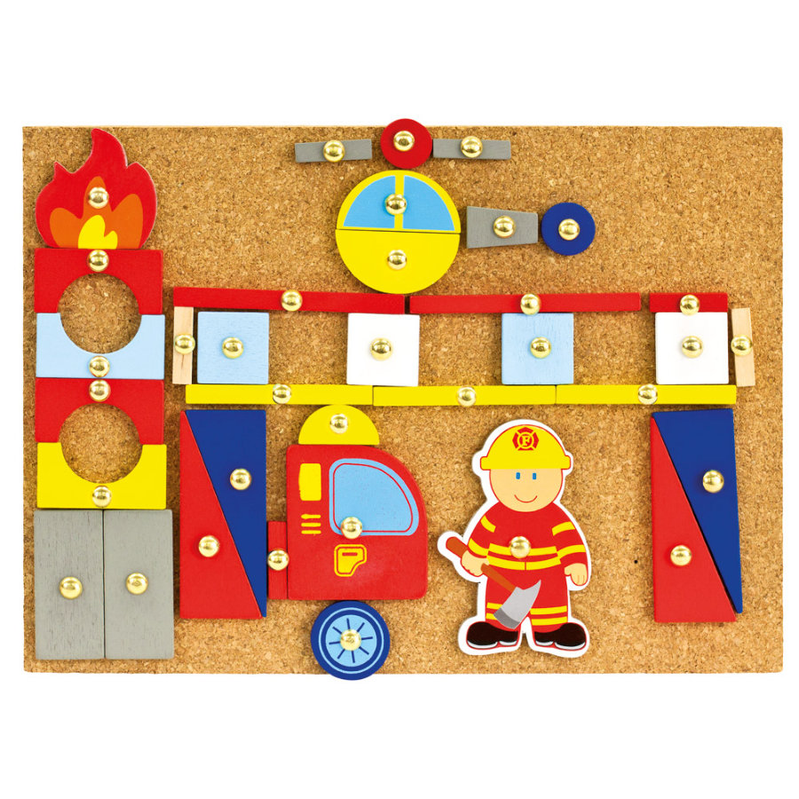 Sonstige Hämmerchenspiel Feuerwehr Puzzlespielzeug ...