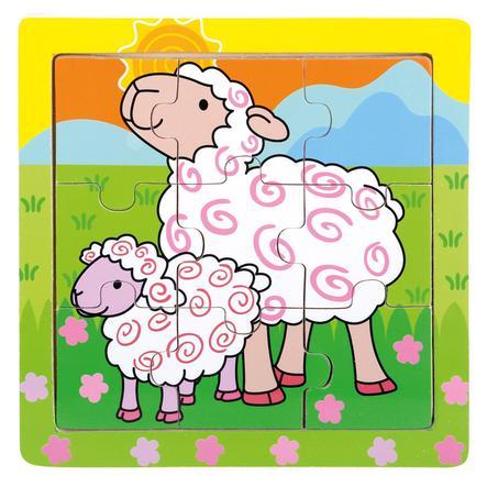 Bino Puzzle Moutons, bois