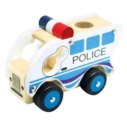 Bino Camionnette de police, bois
