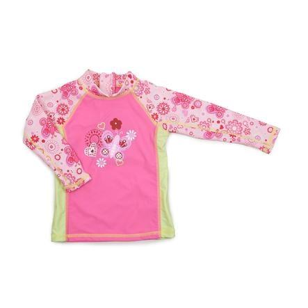 Camiseta de baño DIMO con protección UV rosa