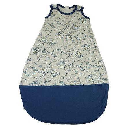 DIMO Schlafsack Print blau