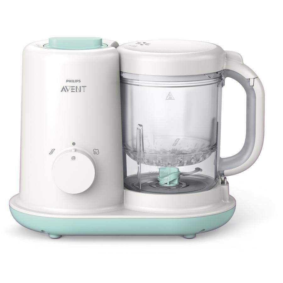 Philips Avent Procesador de alimentos para bebés Viva SCF862/02 Blanco a partir de los 6 meses