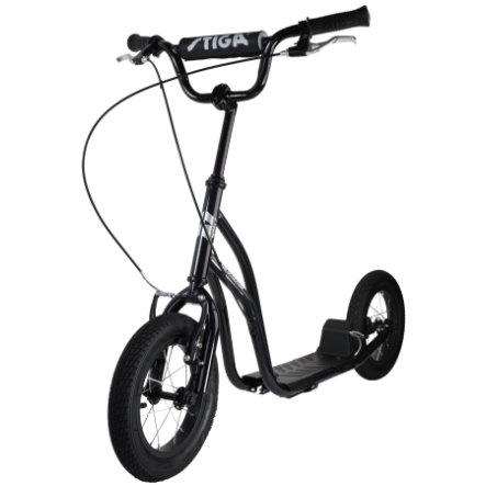 "STIGA SPORTS Air Step Scooter 12"" black"
