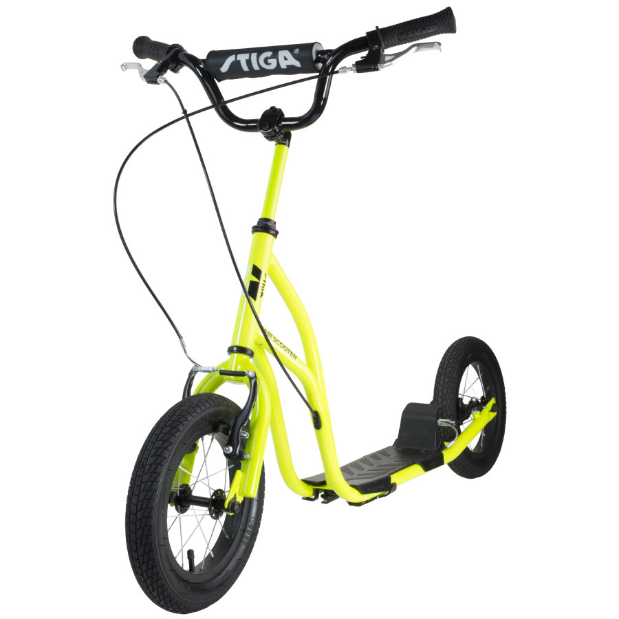 "STIGA SPORTS Air Scooter 12"" verde"