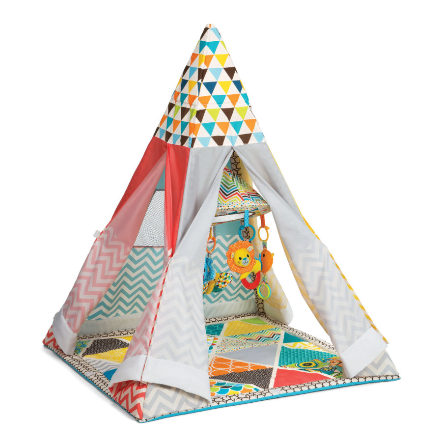 infantino b kids tipi spielmatte mit zelt. Black Bedroom Furniture Sets. Home Design Ideas