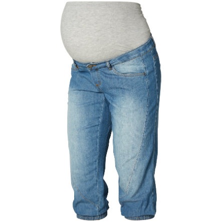 Mama Licious 3/4 Bukser MLAN Blue Denim
