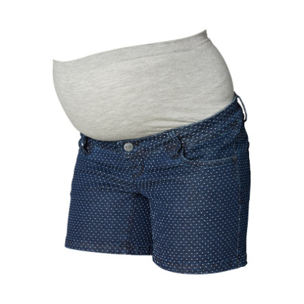 mama licious Umstandsshorts MLDOT Medium Blue Denim