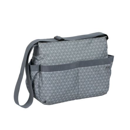 MARV Wickeltasche Shoulderbag Tiles grey