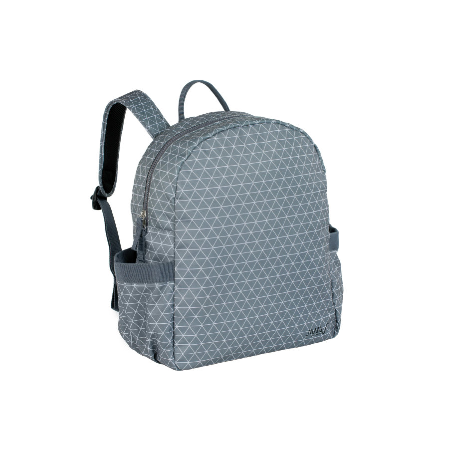 MARV Wickelrucksack Backpack Tiles grey