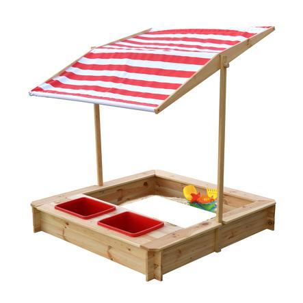 beluga Sandkasten mit Wasser-Matsch-Bereich