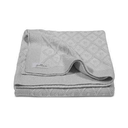 jollein Couverture bébé Diamond gris 100 x 150 cm
