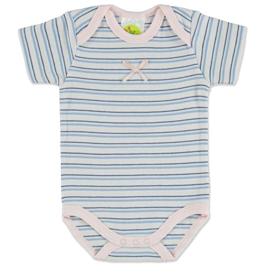 DIMO Baby Body Paris Girl blauw gestreept