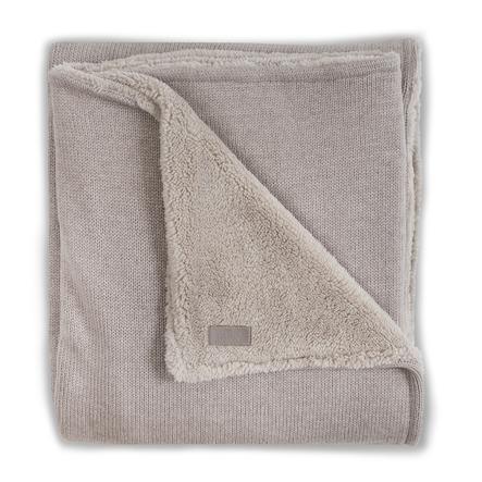jollein Couverture bébé tricot hiver sand 100 x 150 cm