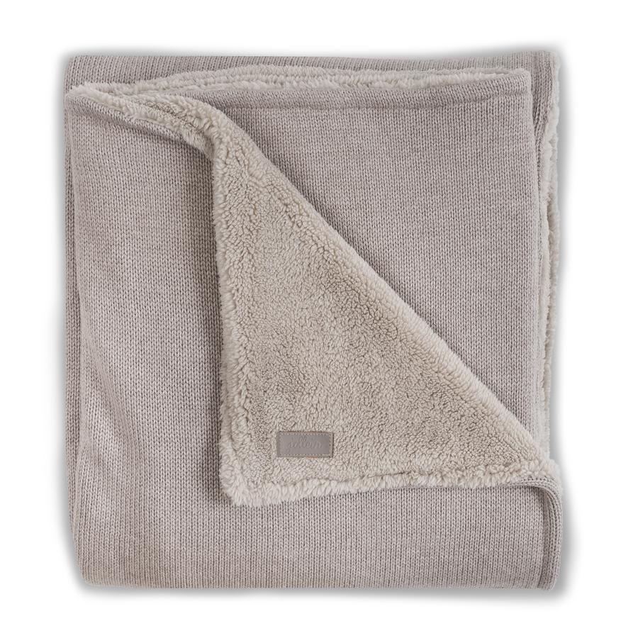 jollein Copertina di maglia, invernale sand 100x150cm
