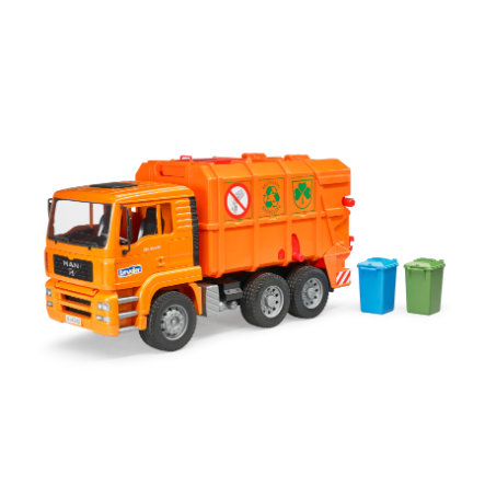 bruder® MAN TGA Müll-LKW, orange 02760