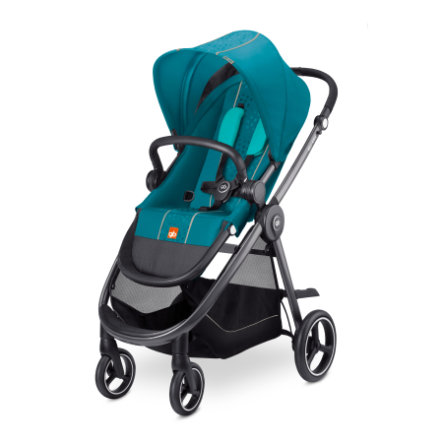 gb GOLD Kinderwagen Beli Air4 Capri Blue-turquoise