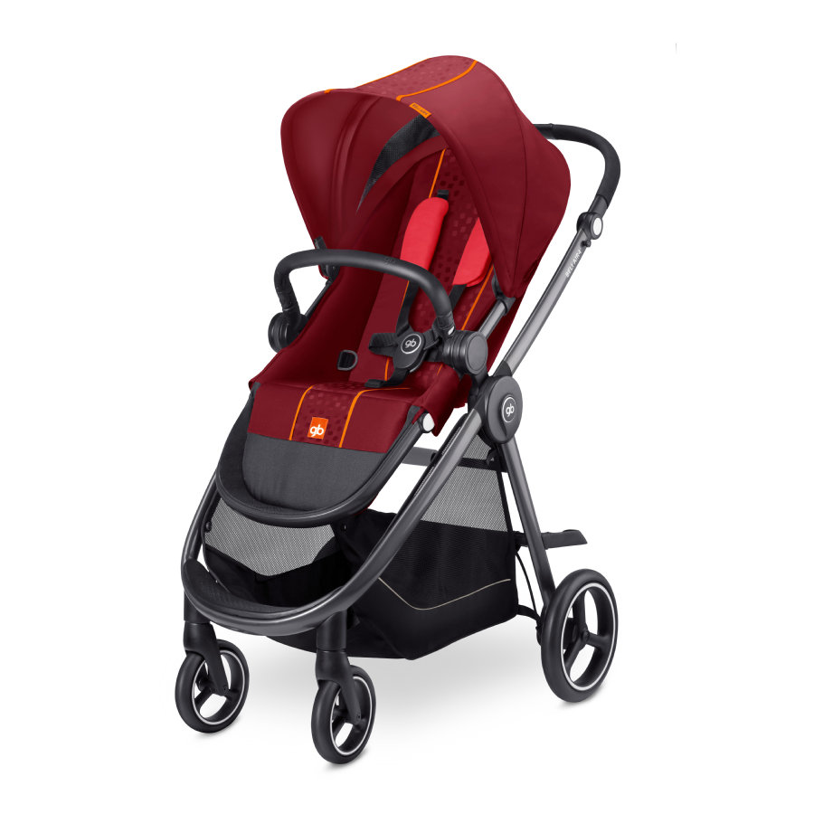 gb GOLD Kinderwagen Beli Air4 Dragonfire Red - red