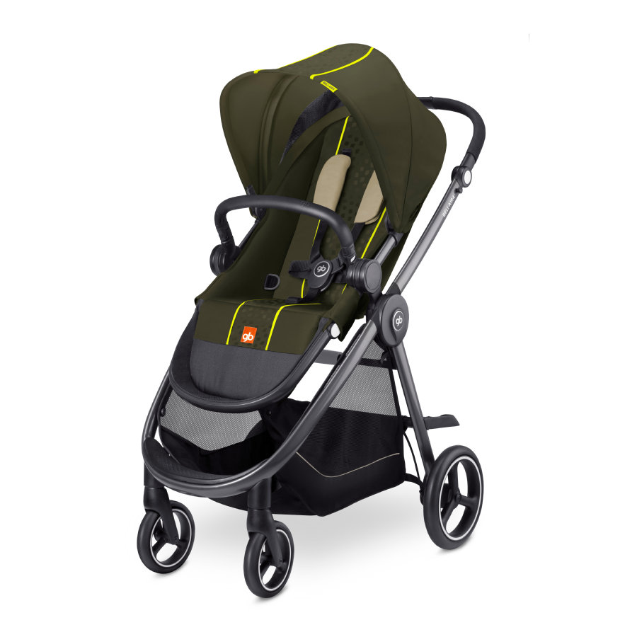 gb GOLD Kinderwagen Beli Air4 Lizard Khaki - khaki