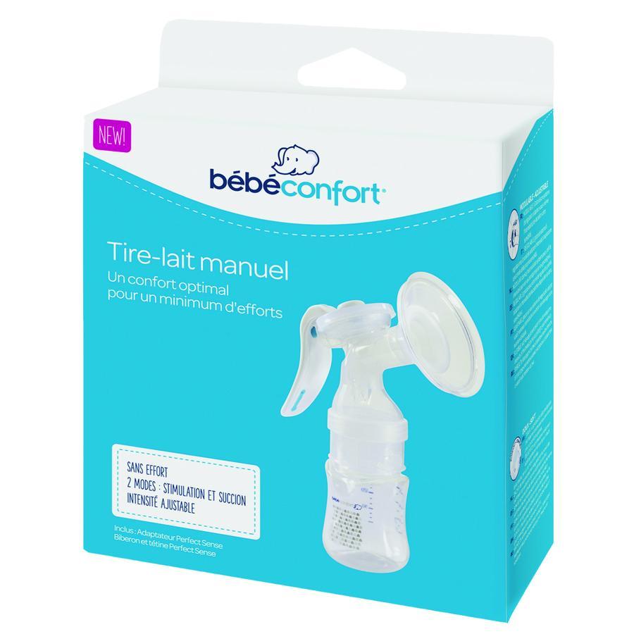 Bébé Confort Pack tire-lait manuel, biberon Perfect Sense 150 ml, tétine T. S