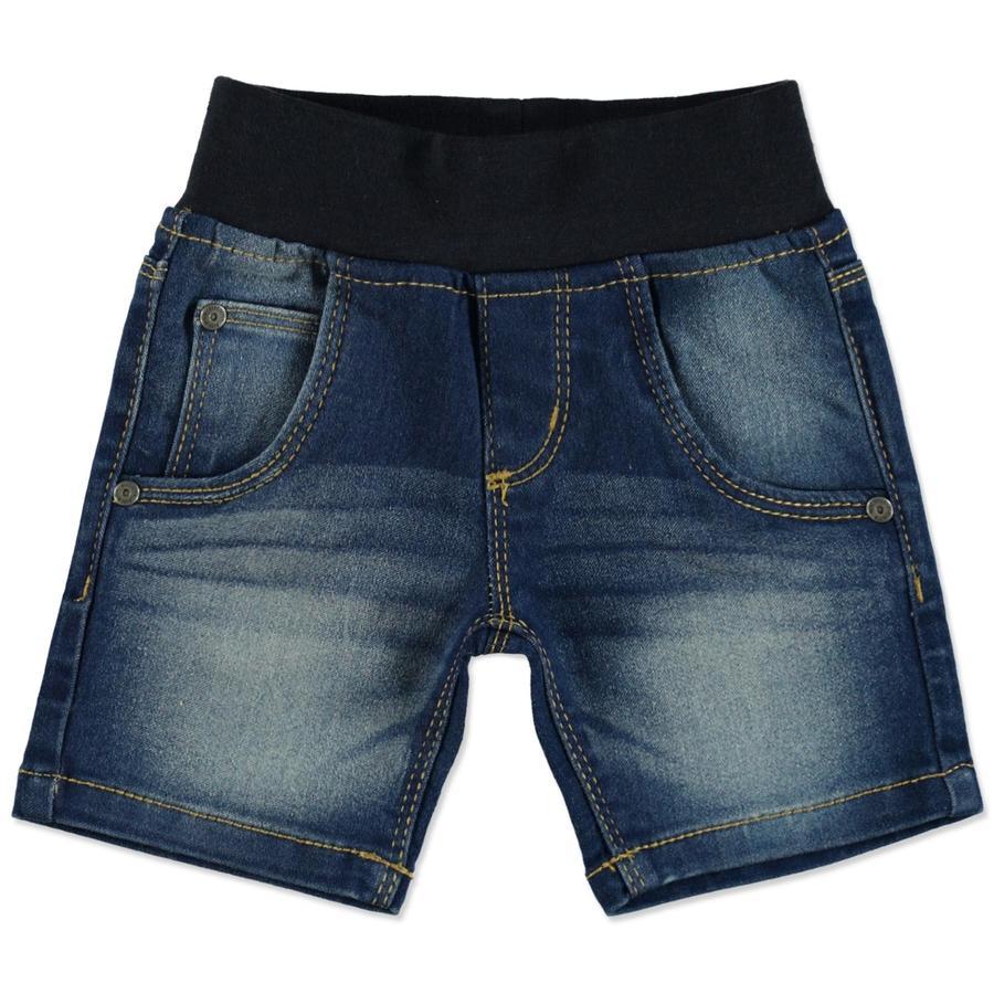 BLUE SEVEN Niebieskie jeansy na Bermudach.