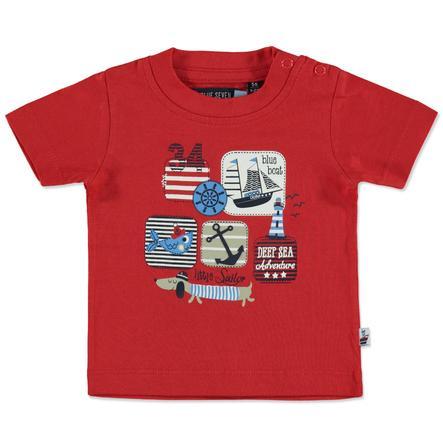 BLUE SEVEN Boys T-Shirt Maritiem rood
